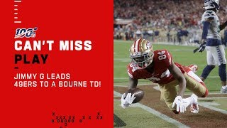 Jimmy G Connects w/ Bourne for 49ers TD