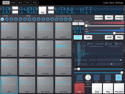 Beat Machine for iPad Demo and Tutorial