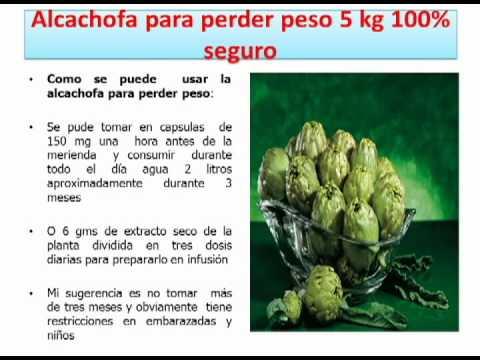 recetas para bajar de peso con alcachofa dieta
