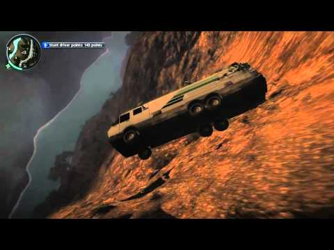 Just Cause 2 Car Jumping |