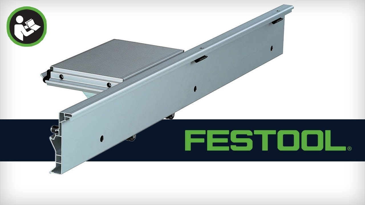 Festool CMS Router Table Sliding Table (492100) - YouTube