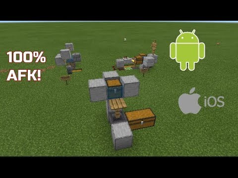 How To USE Afk Fish Farms On Minecraft Android, Pocket Edition