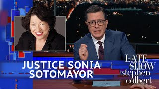 Justice Sonia Sotomayor Allows Stephen To Approach The Bench