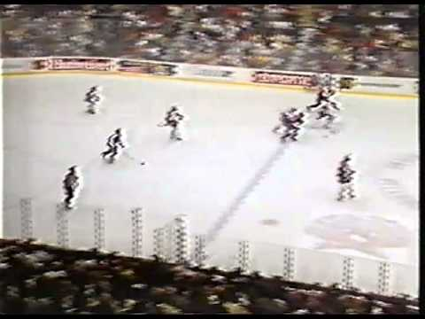 NHL All Star Game - 1990 (Part 3 of 7) - Swedish commentators