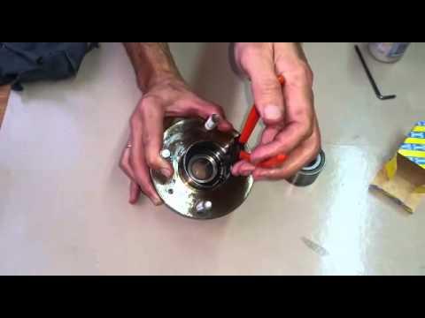 Chevrolet Aveo Rodamiento Trasero Rueda Ruleman Cambiar