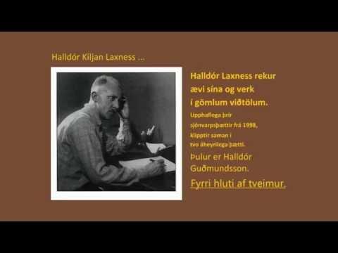 Halldór Kiljan Laxness  Rekur ævi og störf TV AudioEdit 1af2 1998