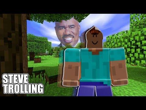 Blox Piece - Steve Trolling