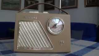 Radio DDR Rema Trabant T6 Transistorradio Röhrenradio