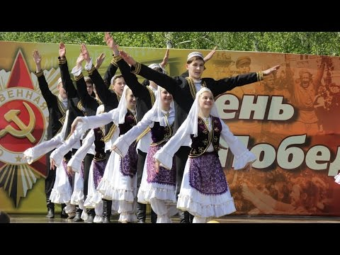 Веселый и быстрый татарский танец!