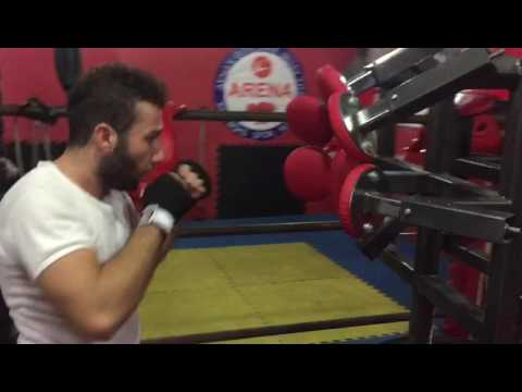 Göktürk arena spor kulübü kick boks antremani
