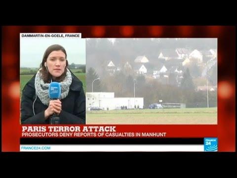 Operation to detain Charlie Hebdo suspects 'underway' - PARIS TERROR ATTACK