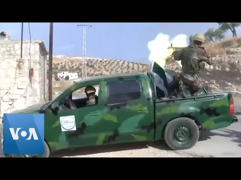 Turkish-Backed Fighters Train for Syria Incursion