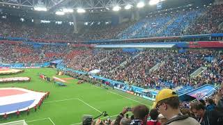 French national anthem world cup 2018 semi final France vs Belgium