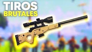 TIROS BRUTALES (Fortnite Battle Royale)