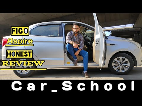 Ford Figo Aspire Titanium 2017   Real Life Review After 30000kms In Details  #Car_School