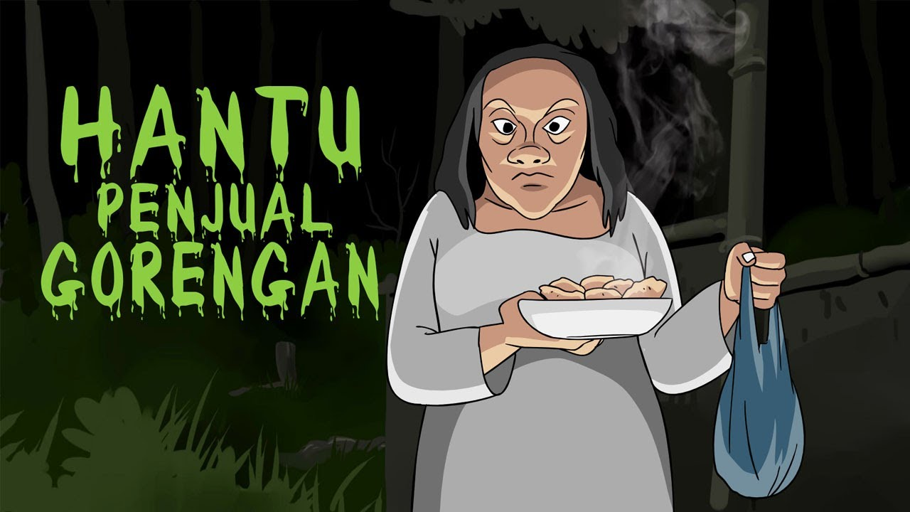 Download Hantu Penjual Gorengan - Kartun Horor Lucu