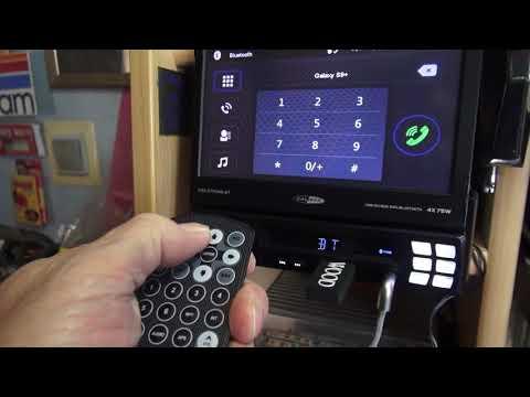 CALIBER RMD 579DAB-BT WHIZZY SCREEN 1-DIN RADIO!   4x75W