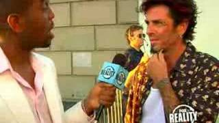 Evel Dick on the red carpet of 2007 Really Awards