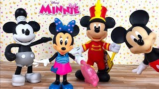 UNBOXING DISNEY JUNIOR JET SET MINNIE WITH ACCESSORIES AND OUTFITS