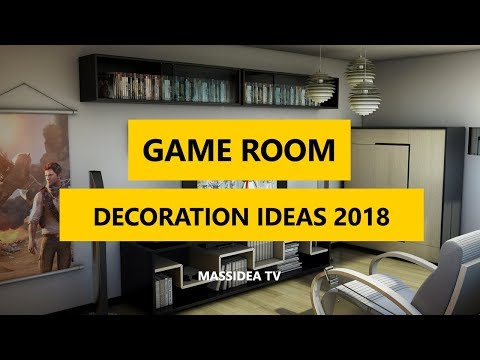 50+ Epic Video Game Room Decoration Ideas 2018