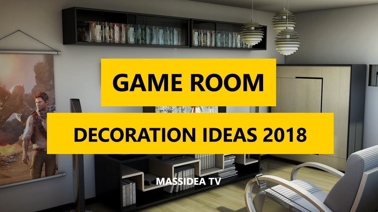 50+ Epic Video Game Room Decoration Ideas 2018 - YouTube