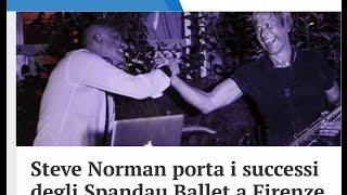 Gambar cover Steve Norman porta i successi degli Spandau Ballet a Firenze con Dj Claudio Ciccone Bros