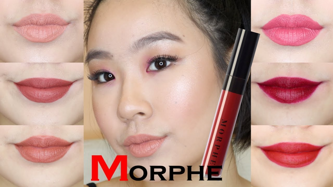 Morphe Liquid Lipstick Swatches 2018 On Asian Skin Youtube It imparts a smooth and streakless application. morphe liquid lipstick swatches 2018 on asian skin