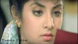 Tumhe Dekhe Meri Aankhen Song   Rang Movie   Divya Bharti   Ayesha Jhulka   Kamal Sadanah  