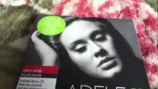 Adele 21 Deluxe Edition  Unboxing