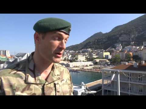 HMS Bulwark visits Gibraltar 26 September 2016