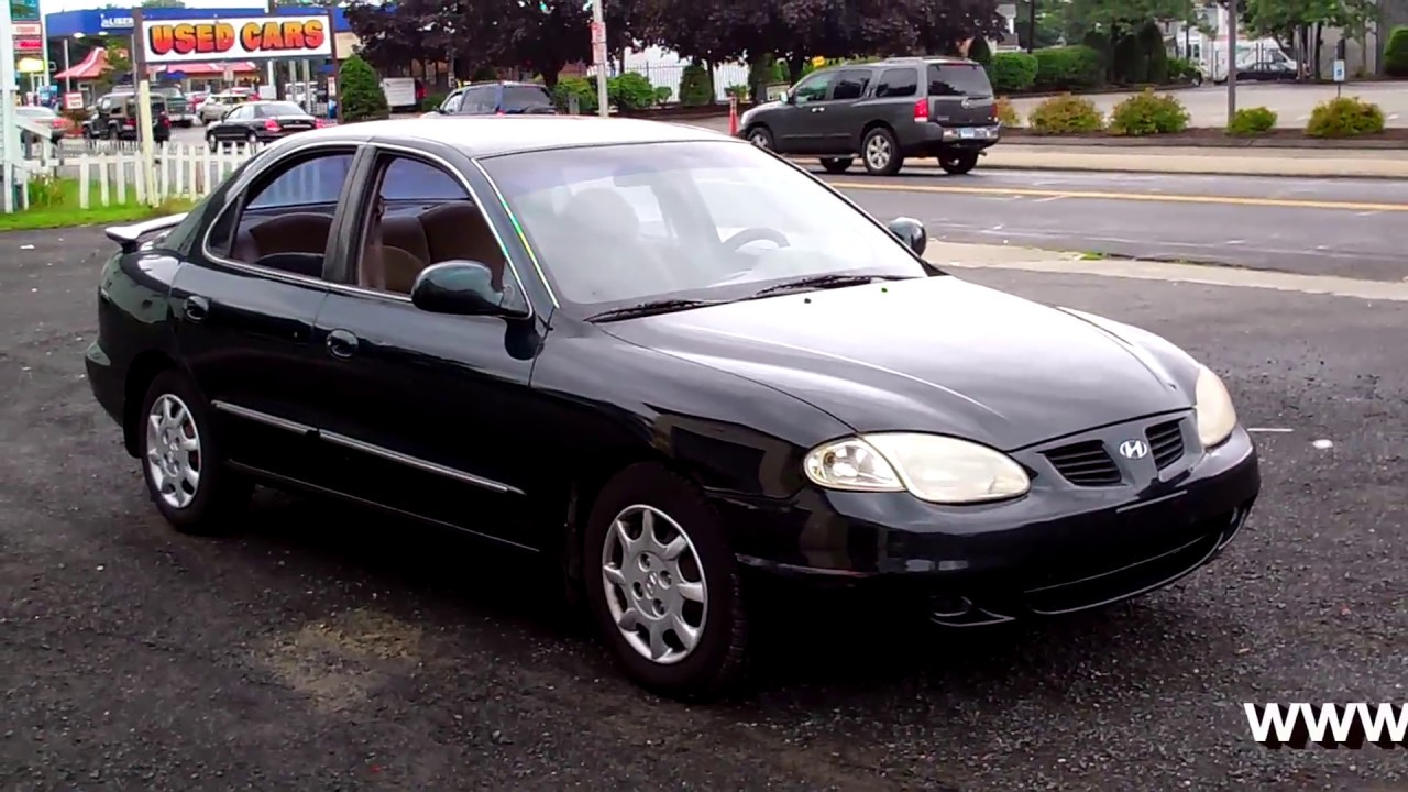 2000 hyundai elantra gls sedan 4 dr 4cyl at 2 995 youtube. Black Bedroom Furniture Sets. Home Design Ideas