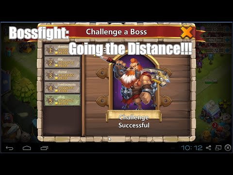 Castle Clash: Bossfight - I Finally Get Lock On Video