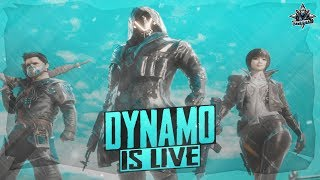 PUBG MOBILE LIVE WITH DYNAMO | RANK PUSHING TO ACE