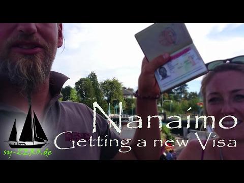 16-30_Nanaimo - getting a new Visa (sailing syZERO)