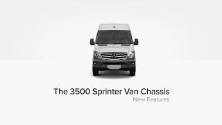 The New 3500 Sprinter Van Chassis