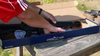 Instalación y Ajuste del Visor Crosman M4-177 (Crosman M4-177 Installing and Adjusting the Sights)