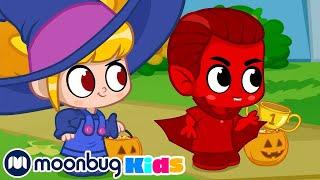Morphle en Español  Halloween 6: Morphle el Vampiro   Caricaturas   Moonbug Kids en Español