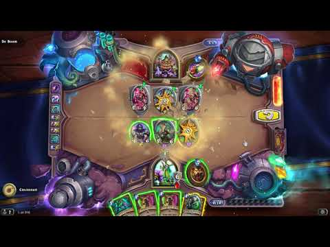 GUIDE: Survive Dr. Boom Boomsday Puzzle Secret Lab Survival Solutions / Answers - FAST (Hearthstone)