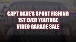 FISHING TACKLE YOUTUBE GARAGE SALE  (long) Jax. FL.