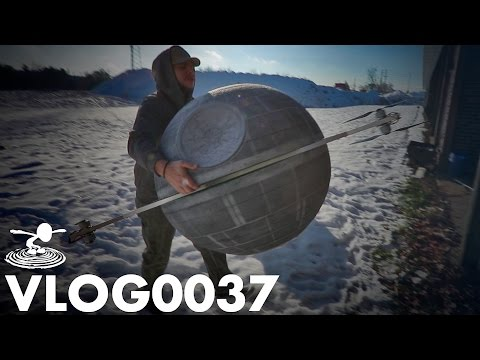 FLYING AN RC DEATH STAR | VLOG0037