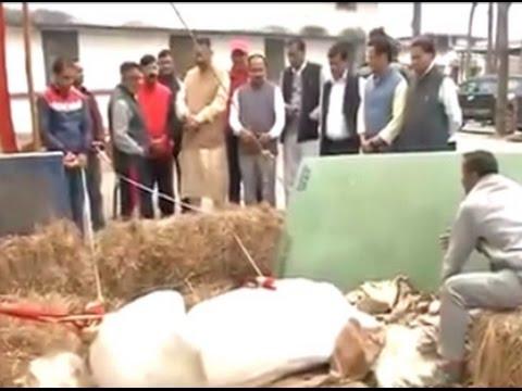'Accused' BJP MLA visits the injured horse