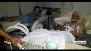 استمرار حصار حي الوعر الحمصي يفاقم سوء الأوضاع الطبية والصحية