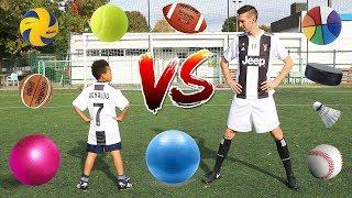 Download lagu MULTI BALL CHALLENGE VS FUTURE FOOTBALL STAR MP3