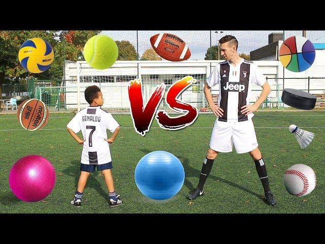MULTI-BALL CHALLENGE VS CRISTIANO RONALDO JR