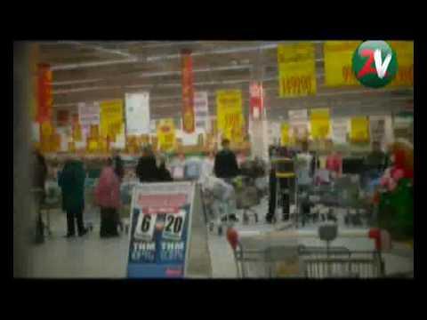 Zold Válasz Mozgalom - Akció a Multibűnözés ellen - Dunakeszi Auchan