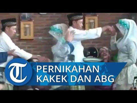 Pernikahan Kakek Dan ABG Di Lombok Barat, Beda Usia 41 Tahun