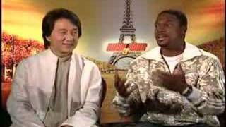 Jackie Chan Chris Tucker interview for Rush Hour 3 thumbnail