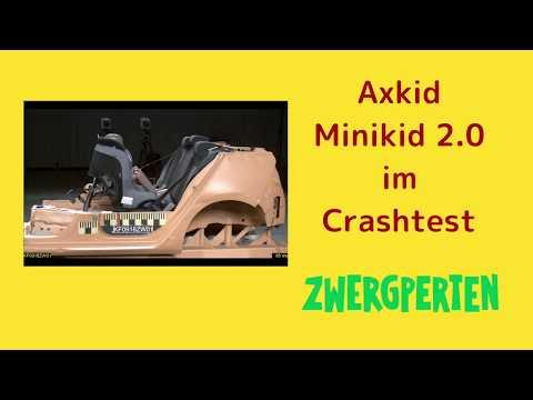 Axkid Minikid 2.0 im Crashtest