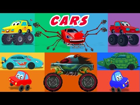 Cars Nursery Rhymes | kids cartoons | kids...