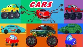 Cars Nursery Rhymes And Stories Compilation | KIDS SHOWS | CARTOONS